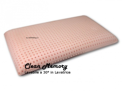 Cuscino in Memory Foam mod. CLEAN MEMORY