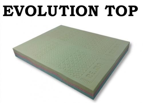 Materasso in Memory Foam mod. EVOLUTION TOP