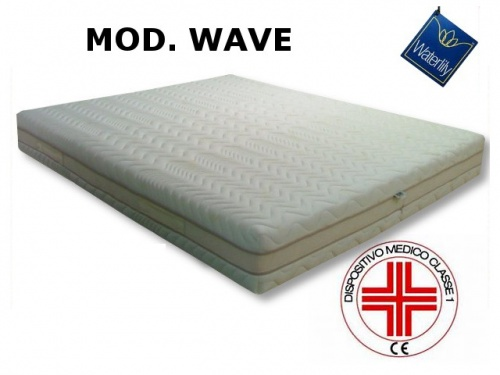 Materasso in Memory Foam mod. WAVE
